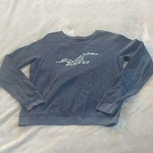 Hollister Pullover Sweatshirt Beaded